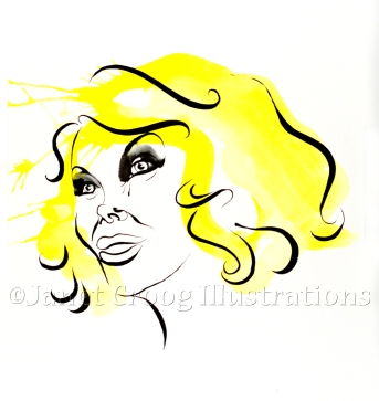 Joan Rivers Portrait