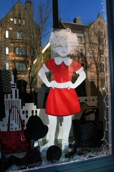 Annie - Shubert Theater Window Display - Idiom
