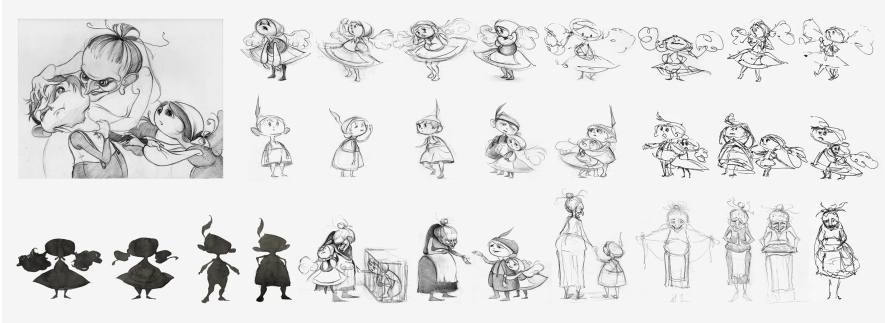 Character Development Process for Hansel and Gretel