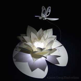 Lotus, paper